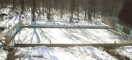 vinny gavigan 39 s backyard rink howard 39 s corner of the web